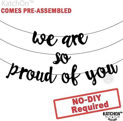 Amazon.com: Pancarta de graduación con texto en inglés