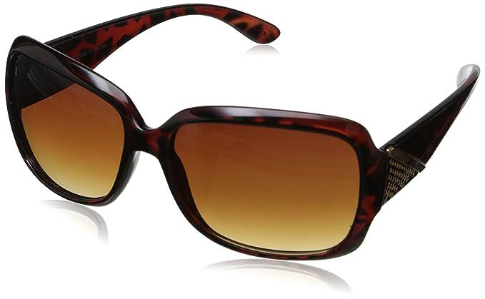 2e112f9c58 Adrienne Vittadini Women s AV1011-215 Square Sunglasses