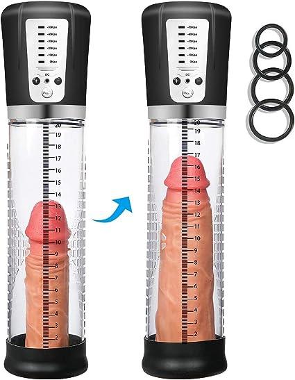 Kidavll Mens Electric Handheld Vacuum Pump Pẹ/ñ/ñ/ís Pump Enlargement Device