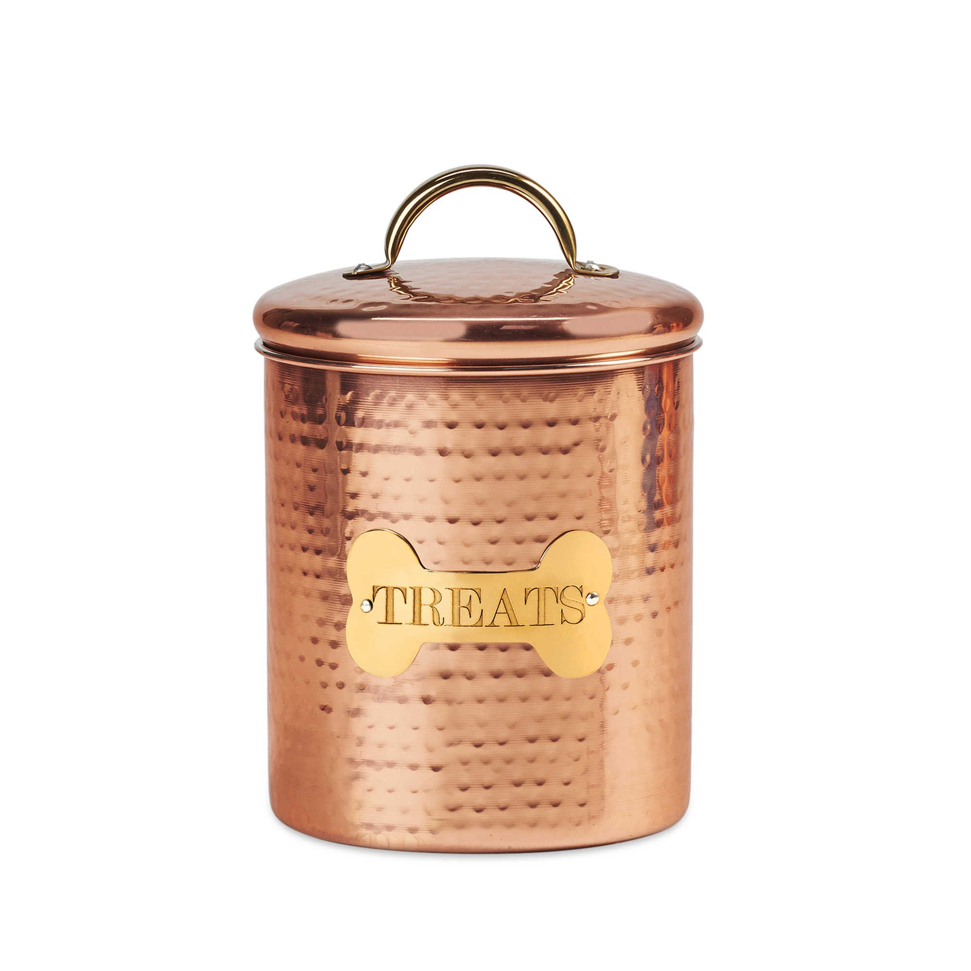 King Charles Copper Dog Canister | 7-Inch