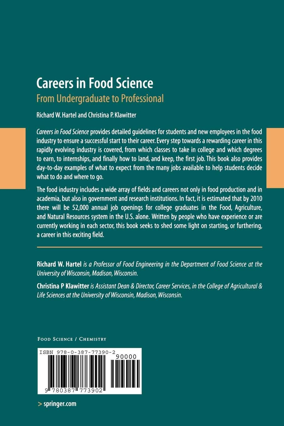 What do you want to do with Food Science & Technology?