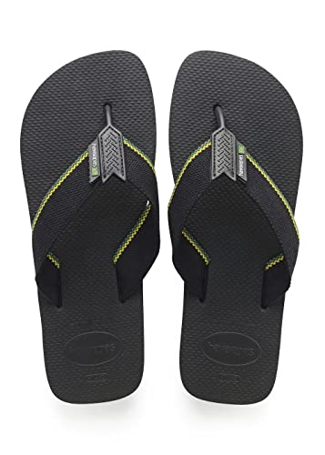 3584bbdba2dd25 Havaianas HAV Urban Brasil Sandals 7-8 D(M) US Men Black