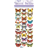 Violette Stickers Mini Bright Butterflies