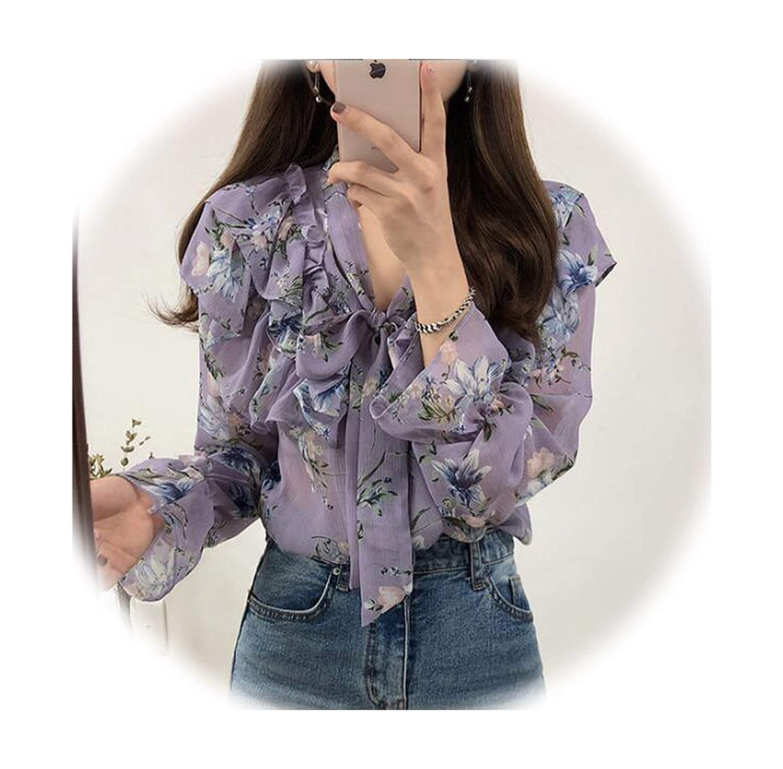 55b4a926ba8 2019 Cute Sweet Bow Tie Tops Women Korean Style Bow Blouses Shirts ...