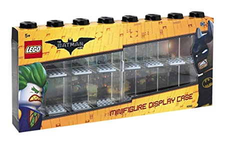 LEGO Batman Minifigure Display Case for 16 Minifigures, Stackable ...