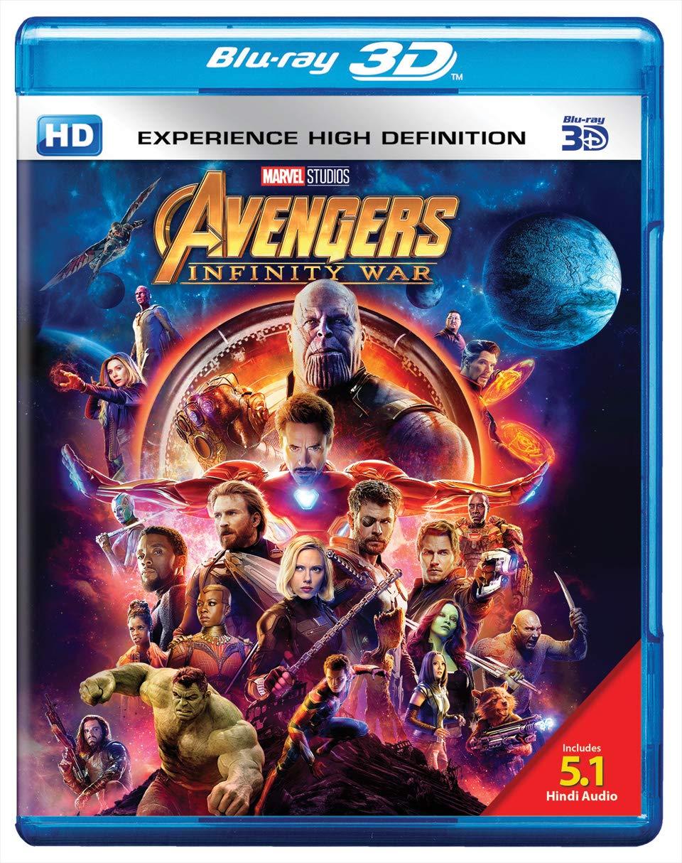 Amazon in: Buy Avengers: Infinity War - 3D BD DVD, Blu-ray