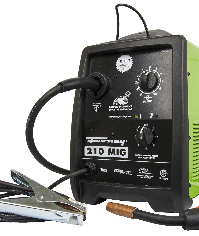 Forney 311 210-Amp MIG Welder, 230-Volt
