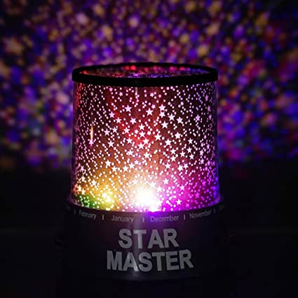 Efavormart Starry Galaxy Sky Projector Cosmos Romantic Color Changing LED  LAMP Gift Set