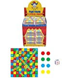 12 SNAKES & LADDERS MINI GAME DICE PARTY TOY BAG FILLER LOOT PRIZES