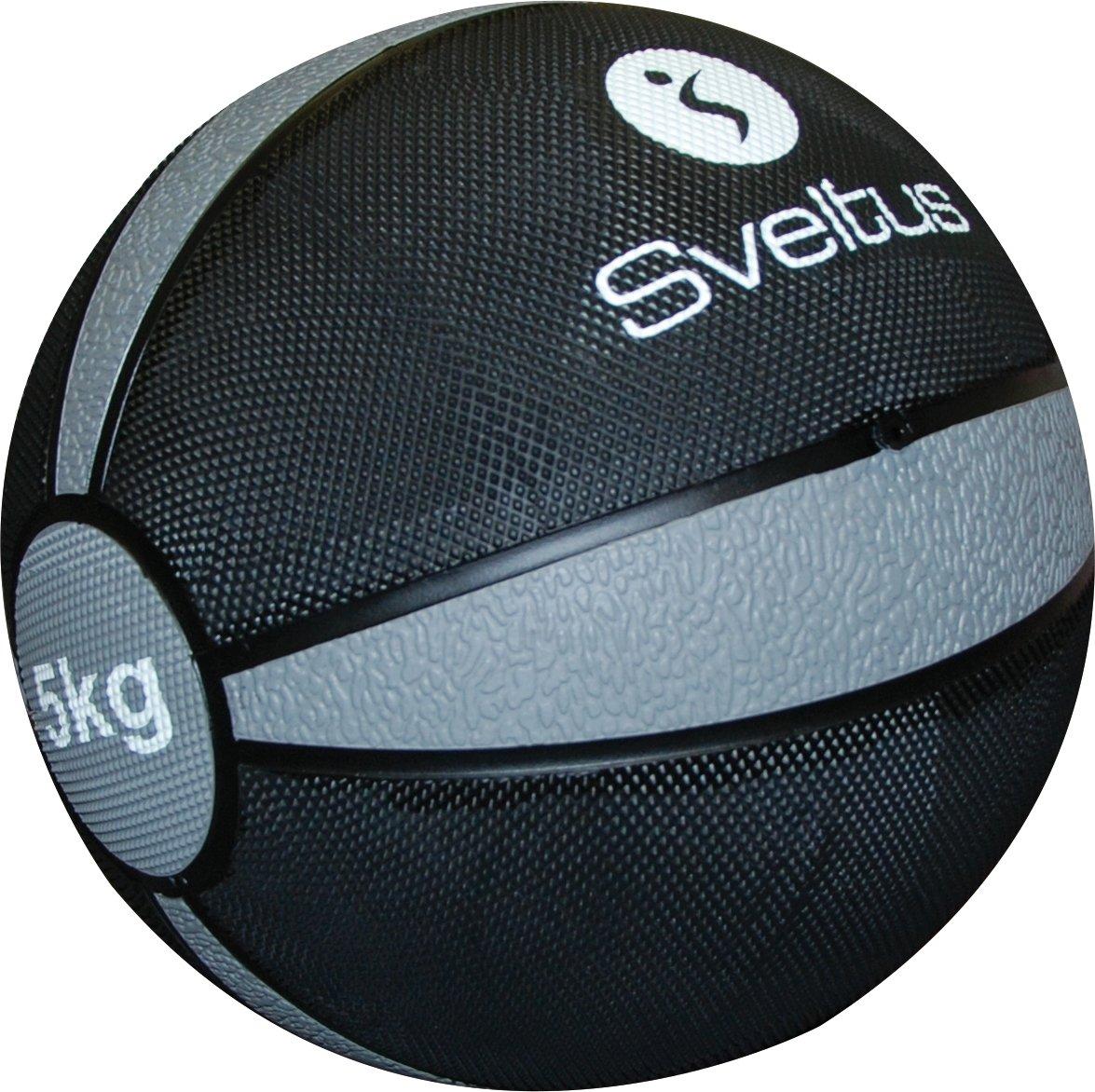Sveltus - Balón Medicinal (5 kg), Color Gris: Amazon.es: Deportes ...