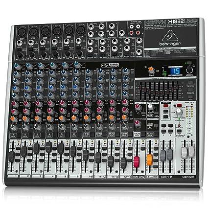 amazon com behringer xenyx x1832usb musical instruments rh amazon com