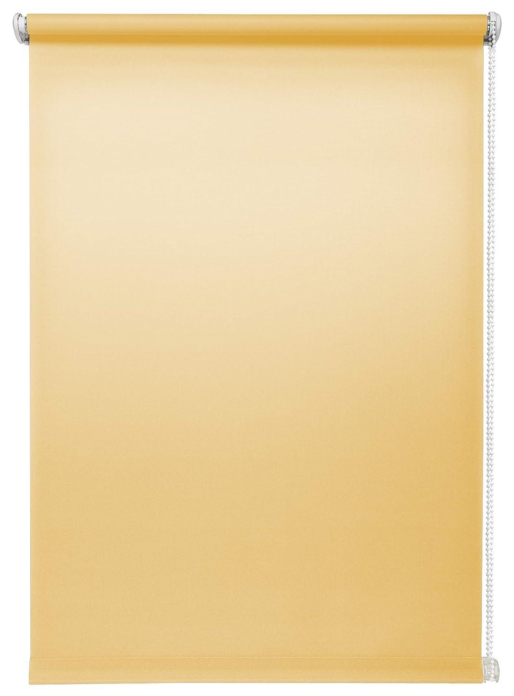 SONDERPOSTEN Tageslichtrollo Seitenzugrollo Blau 80 x 150 cm ohne Bohren
