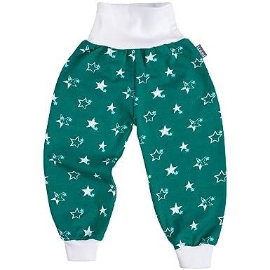 Pumphose Hose Babyhose Baby Kind Jungen Mädchen  56-116 Streifen Grün