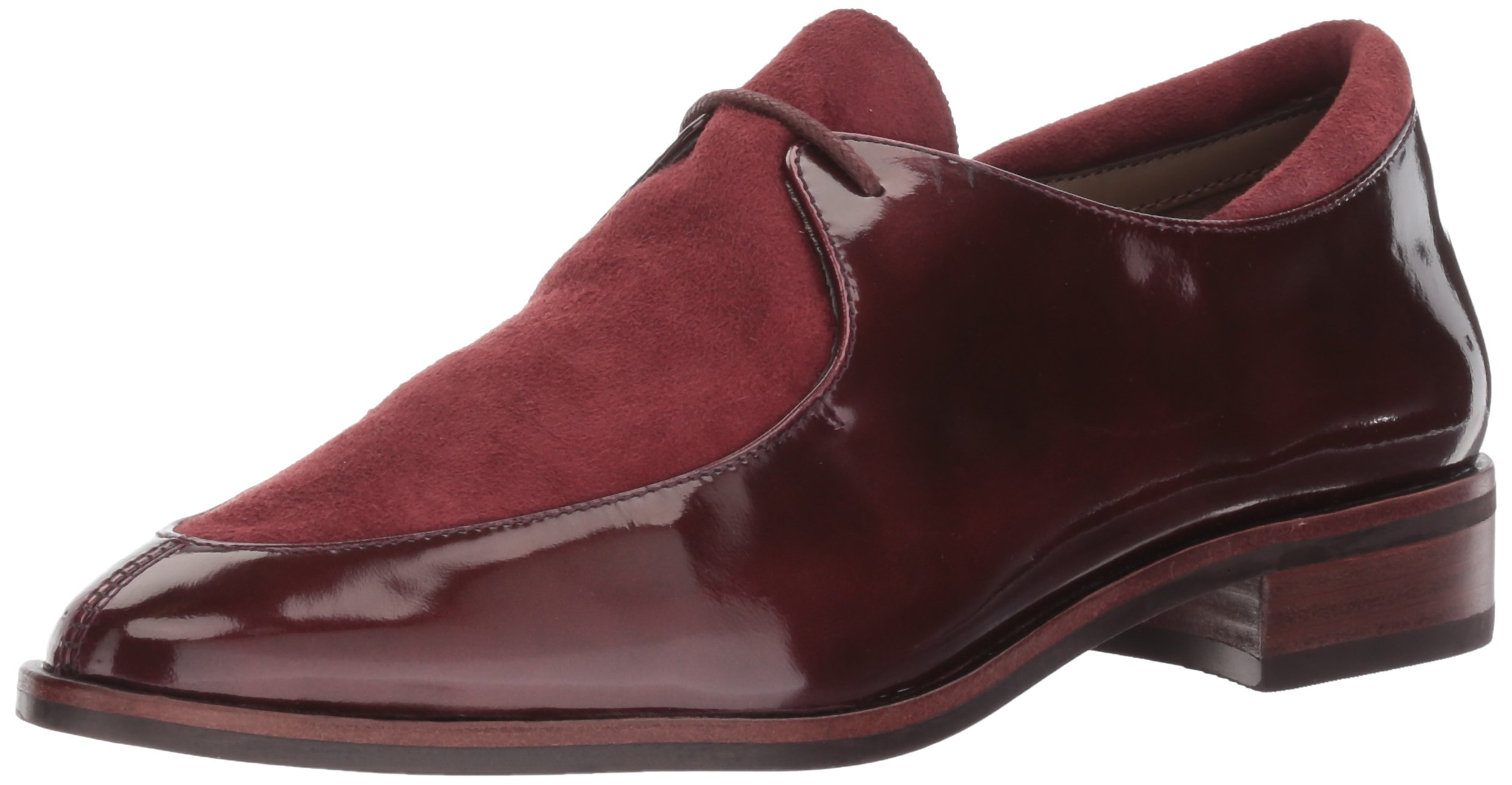 Aerosoles Women's East Village Oxford, Wine Leather, 9 M US