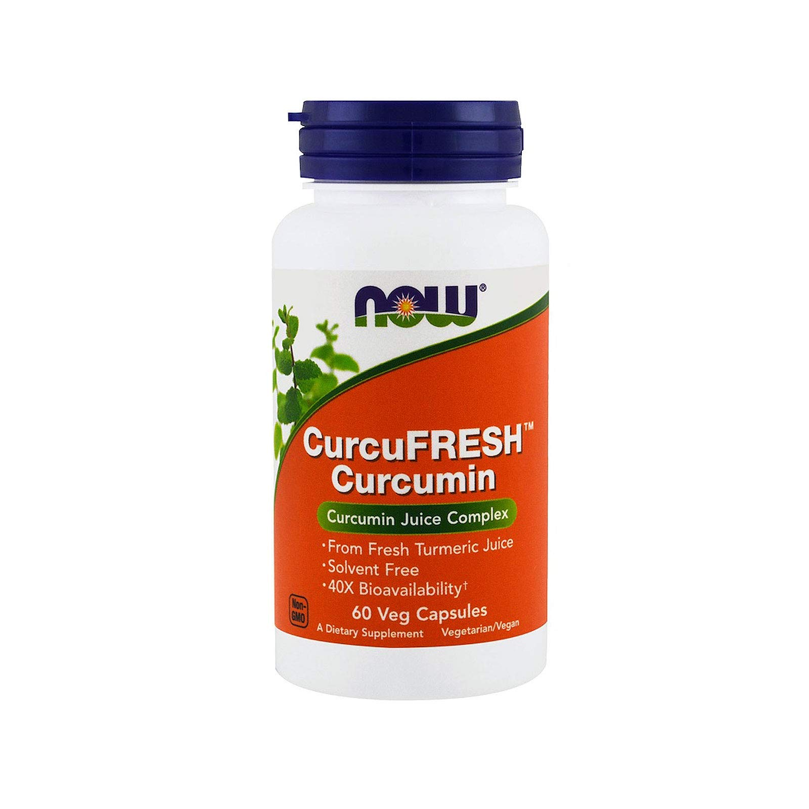 Now Supplements, CurcuFRESH™ Curcumin, 60 Veg Capsules