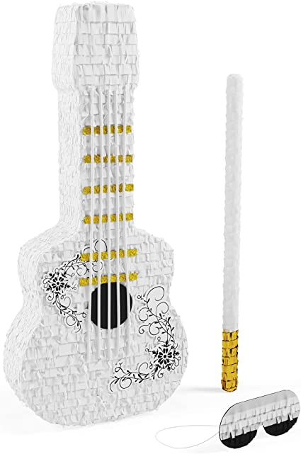 12 Rock Star Guitar Treat Bags Fill w// Favors Gift Toy Candy Band Birthday Party