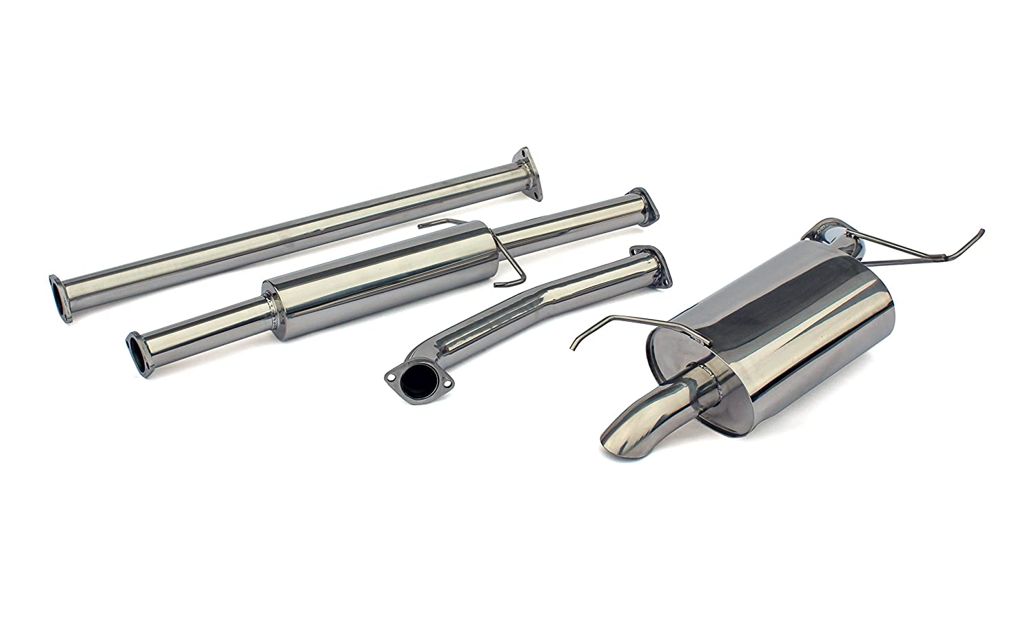 all models Yonaka Compatible with Honda Ridgeline 2006-2014 Stainless Steel Performance Catback Exhaust