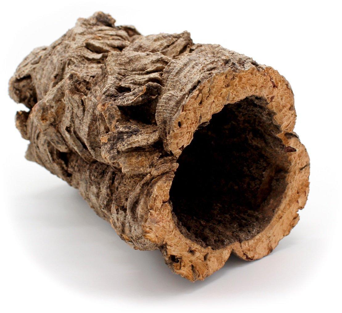 Vogelgaleria Belle Tube en liège pour rongeurs, chinchilla, hamster, cochon d'Inde ou Reptiles