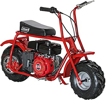 Coleman Powersports Ct100u Gas Powered Trail Mini Bike 98cc 3 0hp Red Motorcycle Accessories Parts Amazon Canada