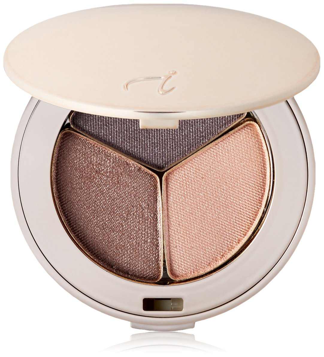 jane iredale PurePressed Eye Shadow Triple, Brown Sugar, 0.10 oz.