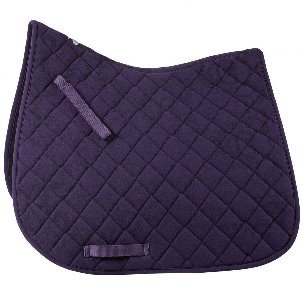 Grape Juice Purple (P) Pony Grape Juice Purple (P) Pony Horze Trapani Dressage Saddle Pad