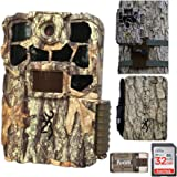 Browning Trail Cameras Recon Force 4K Edge Trail Camera, Essentials Bundle (5 Items)