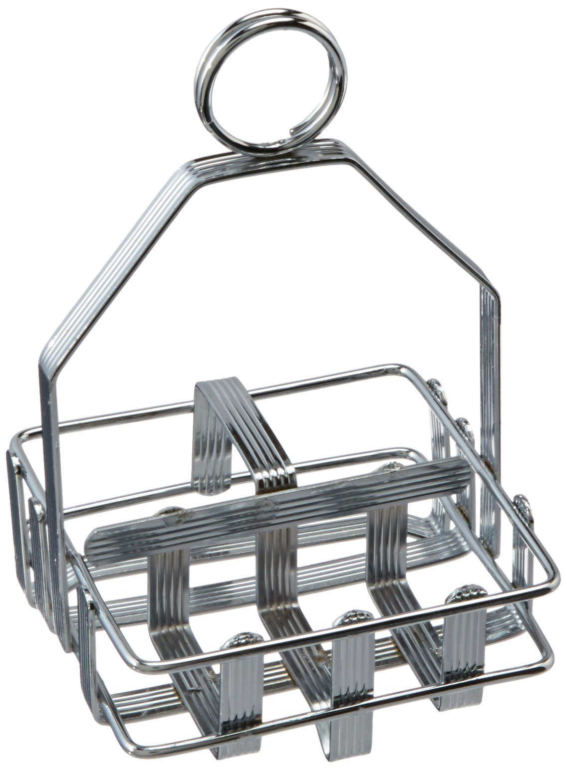 Winco WH-7 Shaker and Packet Holder, Chrome Plated by Winco (Image #1)