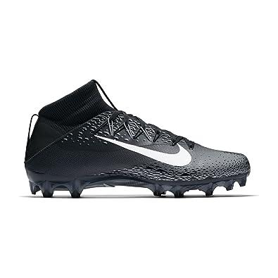 Men\u0027s Nike Vapor Untouchable 2 Football Cleat Black/White/Metallic  Silver/Anthracite Size