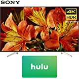Sony XBR65X850F 65-Inch 4K Ultra HD Smart LED TV (2018 Model) with Hulu $50 Gift Card