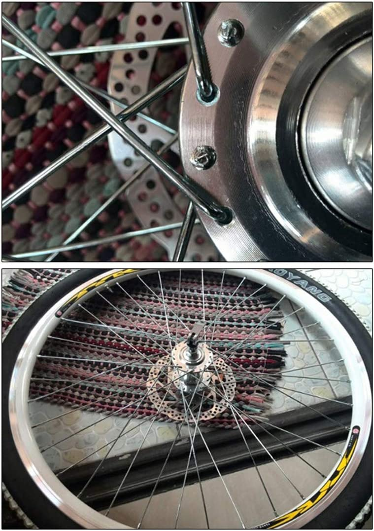 Bicycle Spokes 10pcs//pack Electric Bike Carbon Steel Nipples Knitting Needle NEW