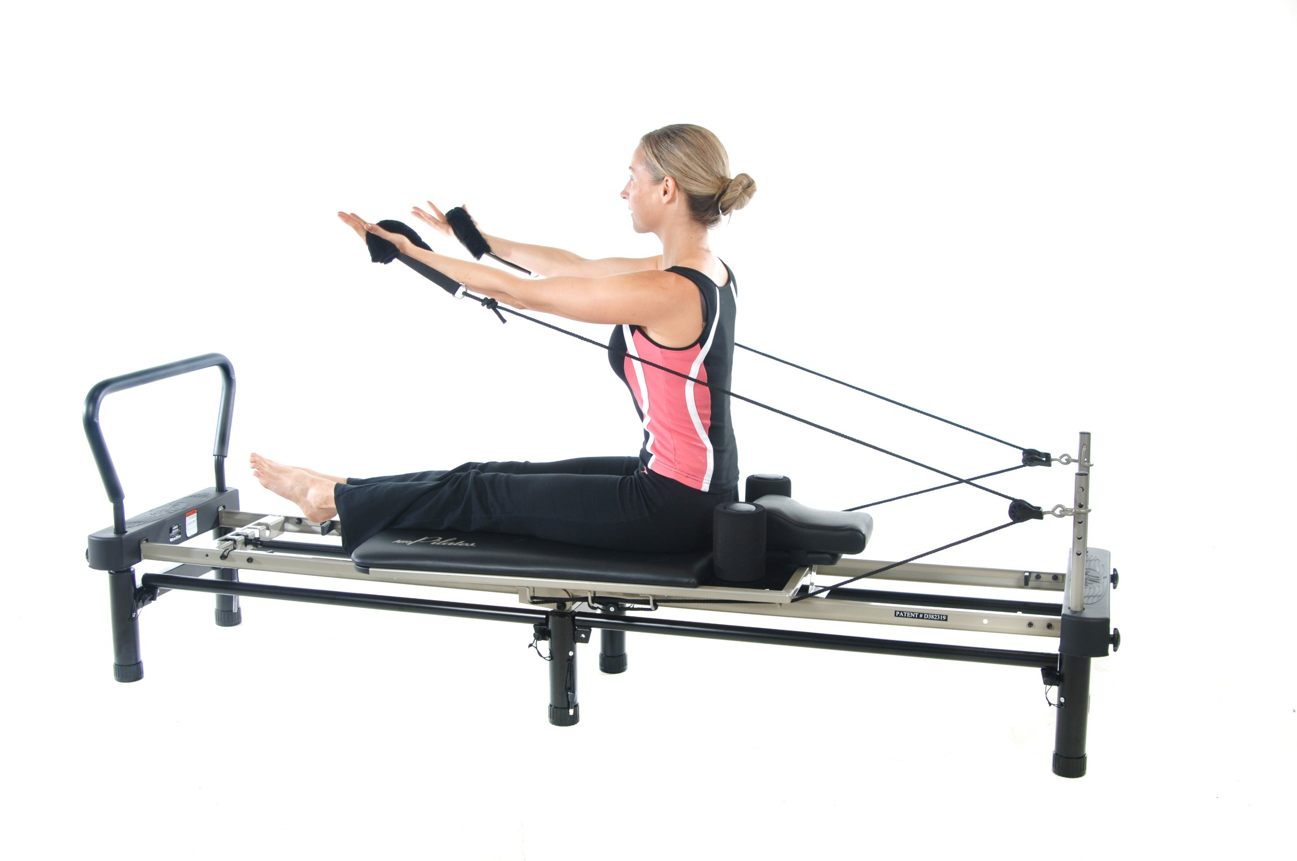 Stamina AeroPilates 700 Premier Reformer with Stand, Cardio Rebounder, Neck Pillow and DVDs by Stamina (Image #9)