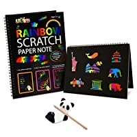 Fricon Create Rainbow Scratch Art for Kids - Best Gifts