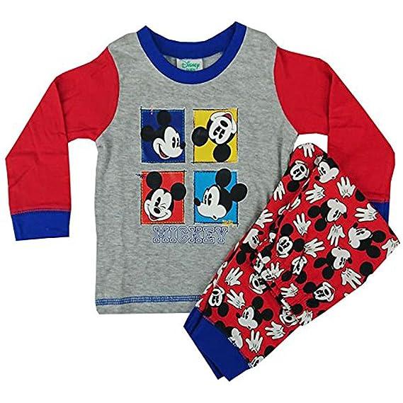 5ebfb2fc7 Mickey Mouse - Pijama Entero - para bebé niño: Amazon.es: Ropa y accesorios