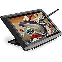 Huion Monitor de la Tableta de Dibujo Kamvas GT-156HD V2 de 15,6 Pulgadas HD IPS Pen Display con 8192 Presión de lápiz 14 Teclas Express programadas - Versión Mejorada