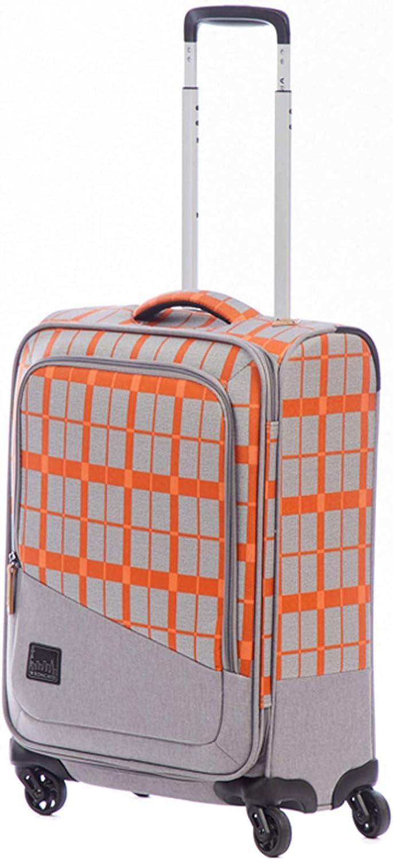 Roncato Adventure Maleta Cabina avión Naranja, Medida: 55 x 40 x 20 cm, Capacidad: 43 l, Pesas: 1.9 kg, Maleta Cabina avión ryanair