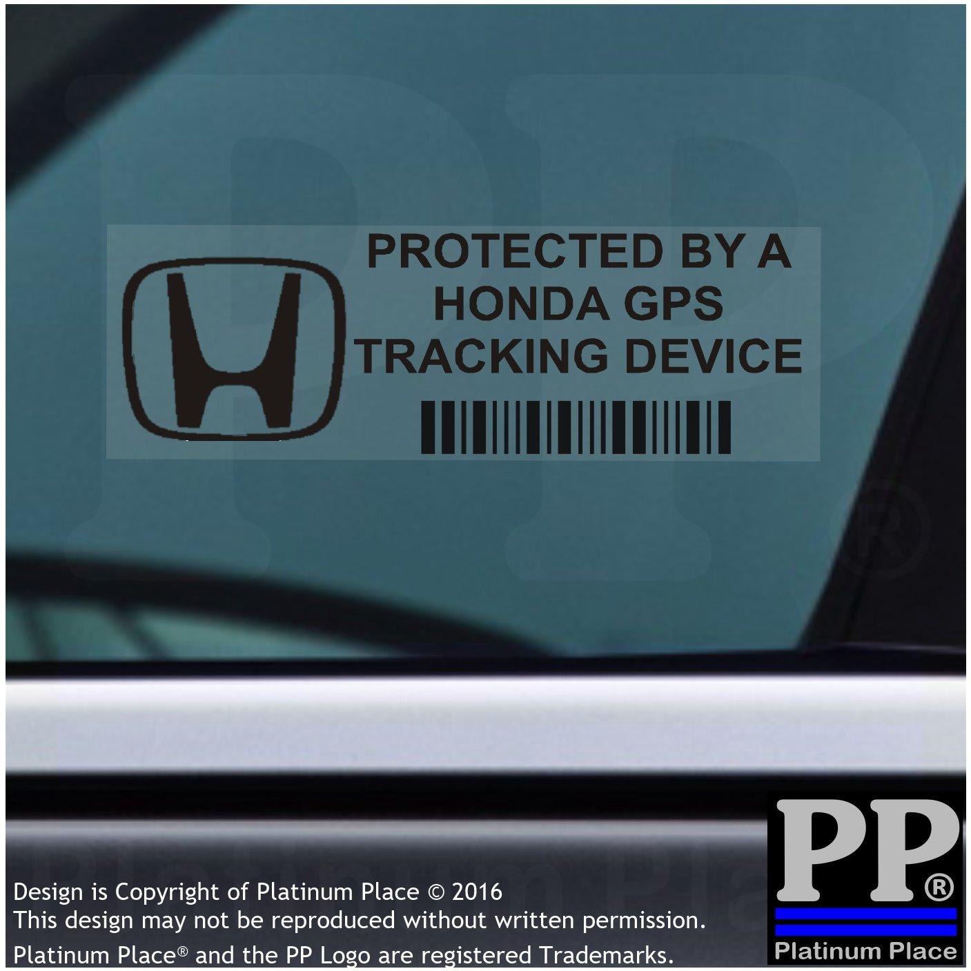 Van alarma Tracker 5/x pphondagpsblk GPS negro dispositivo de seguimiento de seguridad ventana pegatinas 87/x 30/mm-car