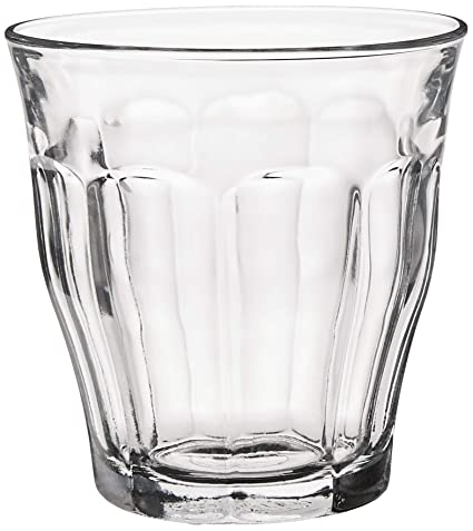 Buy Duralex Made in France, Picardie Tempered Clear Glass Tumbler Set of 6  pcs 25 cl (250 ml) Online at Low Prices in India - Amazon.in
