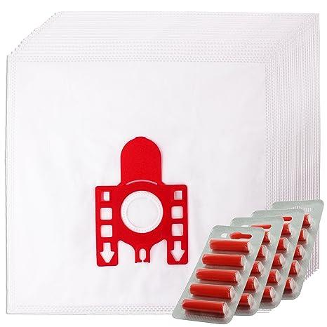 SPARES2GO FJM Hyclean Tipo del Sacchetto Hoover per Miele Aspirapolvere (Confezione da 20 Bustine +