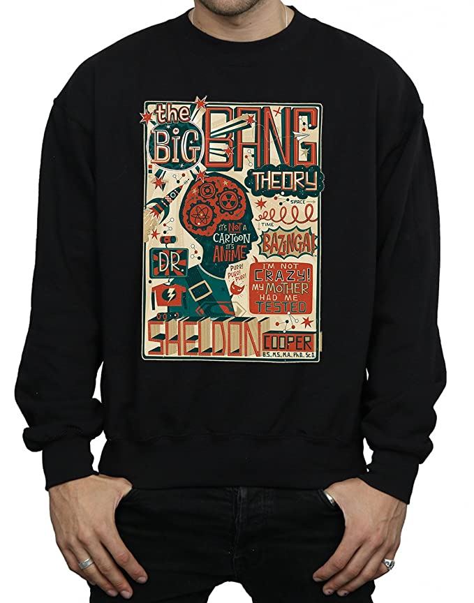 Big Bang Theory Boys Infographic Poster Sweatshirt