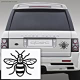 MANCHESTER BEE sticker 12cm x 10cm BUY 2 GET 1 FREE