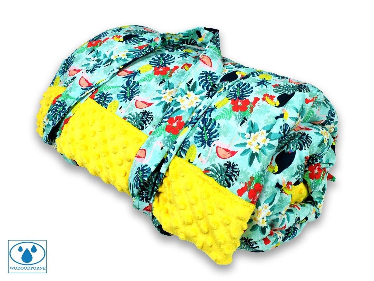 BlueKitty XL 145x170 cm Picknickdecke Wasserdicht mit Tragegriff fü r Picknicks, Strandmatte, Stranddecke, Outdoor, Camping, Wasserabweisend