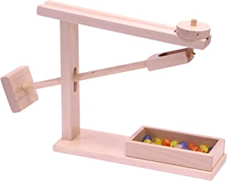 product image for Lapps Toys Amish Made Wooden Marble Roller Machine Toy