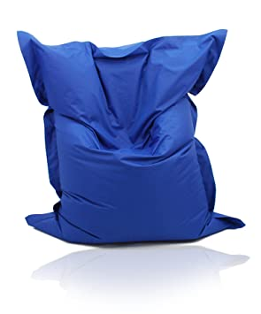 Kinzler K-11163/109 - Puf gigante (140 x 180 cm), color azul royal: Amazon.es: Hogar