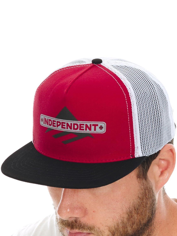 Gorra Camionero Emerica Independent Indy Rojo-Negro (Default, Rojo ...