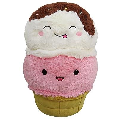 """Squishable / Comfort Food Ice Cream Cone Plush - 15"""": Toys & Games"""