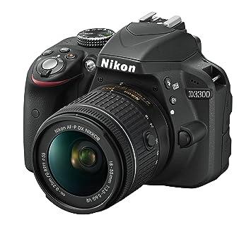 Nikon D3300 - Kit de cámara réflex digital, 24,2 megapíxeles ...