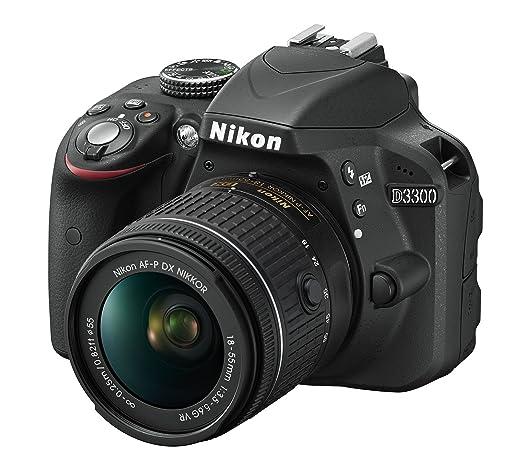 Nikon D3300 + 18-55 AFP DX VR - Cámara réflex digital de 24,2 Mp ...