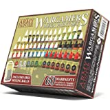 The Army Painter Miniature Painting Kit with 100 Rustproof Mixing Balls Model Paint Set with 60 Nontoxic Acrylic Paints…