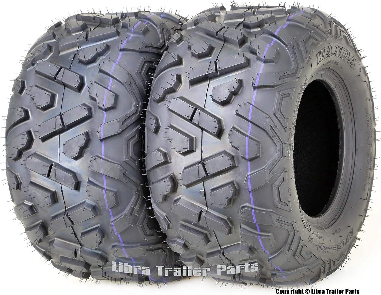 2 New Radial ATV//UTV Tires WANDA 26x9R12 6PR P350-10179