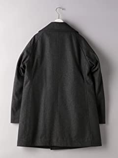 Flannel Padded Peacoat 1225-139-8920: Dark Grey